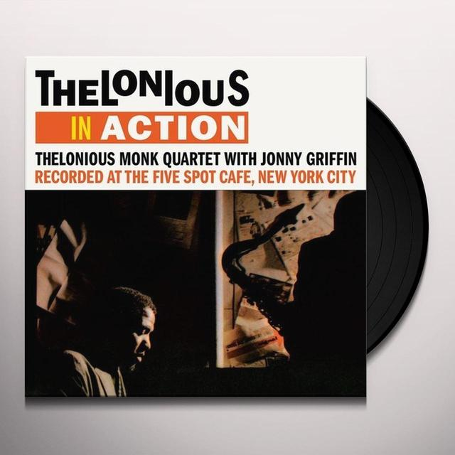 Thelonius Monk IN ACTION Vinyl Record - UK Import