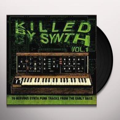 KILLED BY SYNTH 1 / VARIOUS Vinyl Record