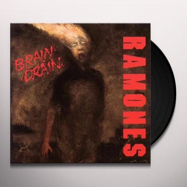 Ramones BRAIN DRAIN Vinyl Record - 180 Gram Pressing