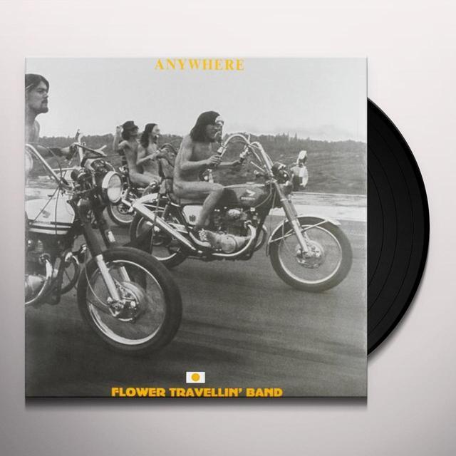 Flower Travellin' Band ANYWHERE Vinyl Record