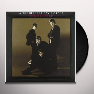 Spencer Group Davis THEIR FIRST LP (BONUS TRACKS) Vinyl Record