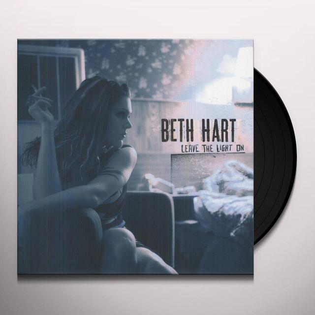 Beth Hart LEAVE THE LIGHT ON Vinyl Record