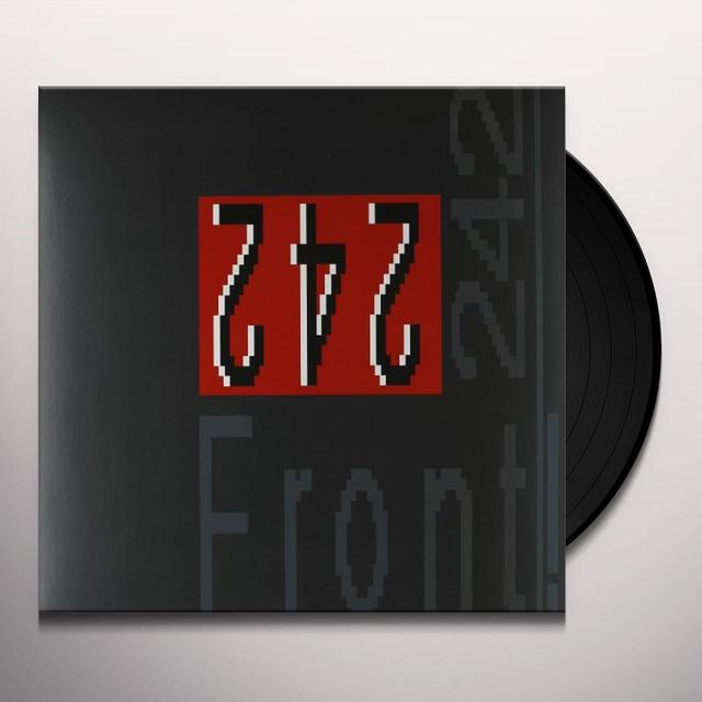 Front 242 FRONT BY FRONT Vinyl Record