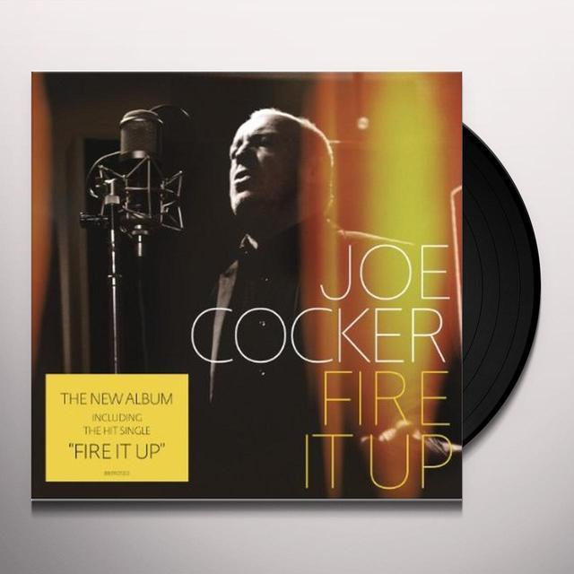 Joe Cocker FIRE IT UP (BONUS CD) Vinyl Record