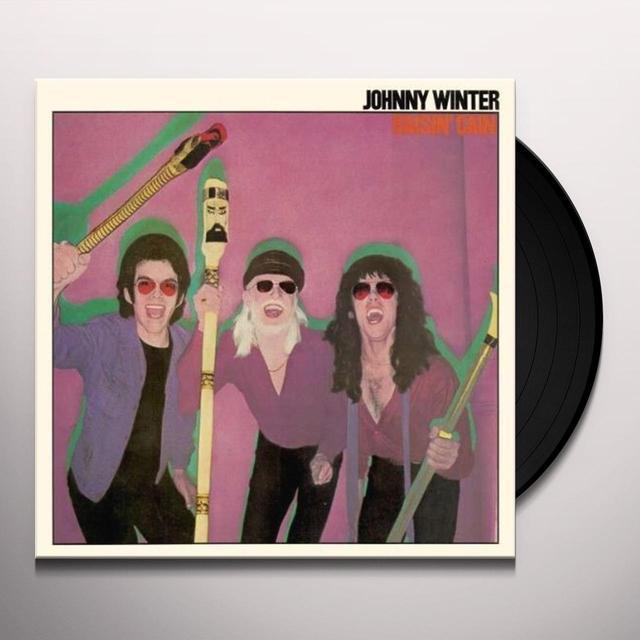 Johnny Winter RAISIN CAIN Vinyl Record