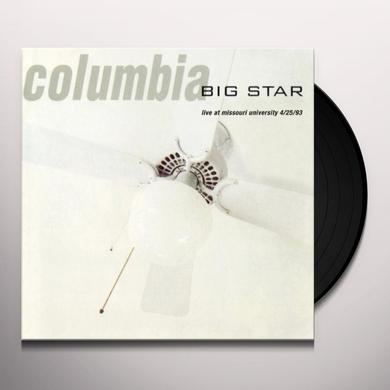 Big Star COLUMBIA LIVE Vinyl Record