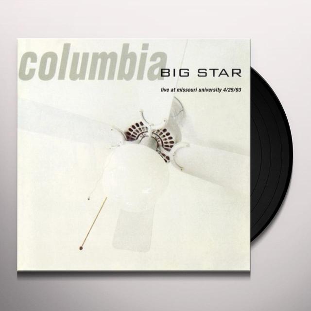 Big Star COLUMBIA LIVE Vinyl Record