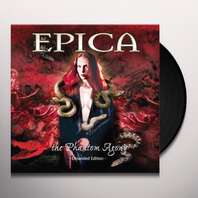 Epica PHANTOM AGONY (BONUS TRACKS) Vinyl Record