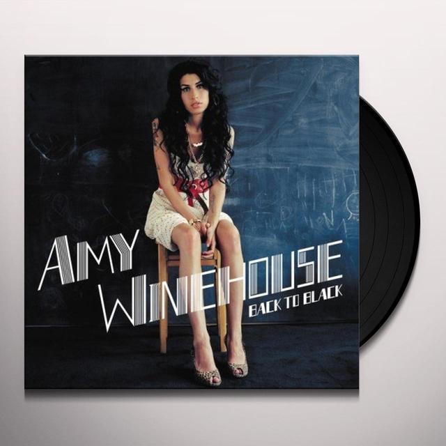 Amy Winehouse BACK TO BLACK Vinyl Record
