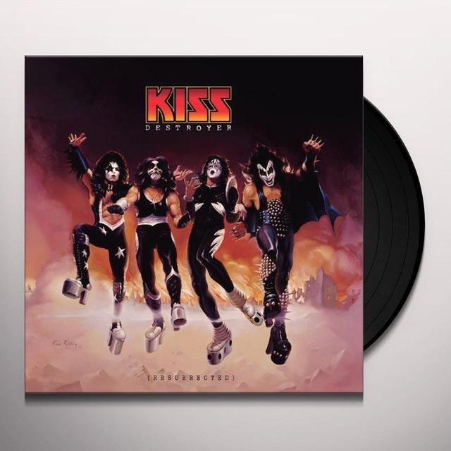 Kiss DESTROYER: RESURRECTED Vinyl Record