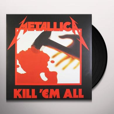 Metallica KILL EM ALL Vinyl Record