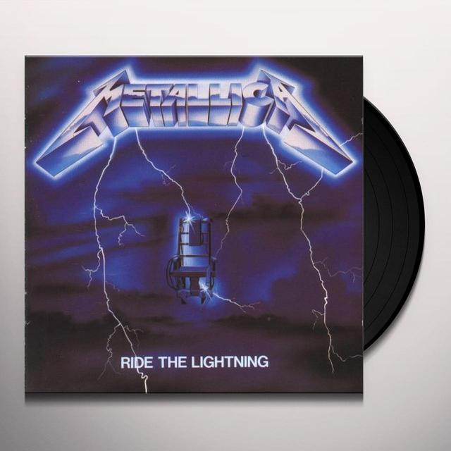 Metallica RIDE THE LIGHTNING Vinyl Record - Holland Release