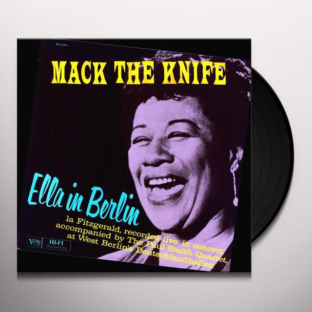 Ella Fitzgerald ELLA IN BERLIN Vinyl Record