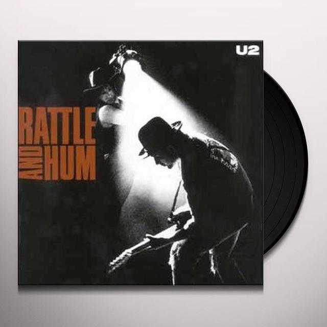 U2 RATTLE & HUM Vinyl Record - 180 Gram Pressing
