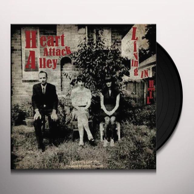 Heart Attack Valley LIVING IN HELL Vinyl Record - w/CD