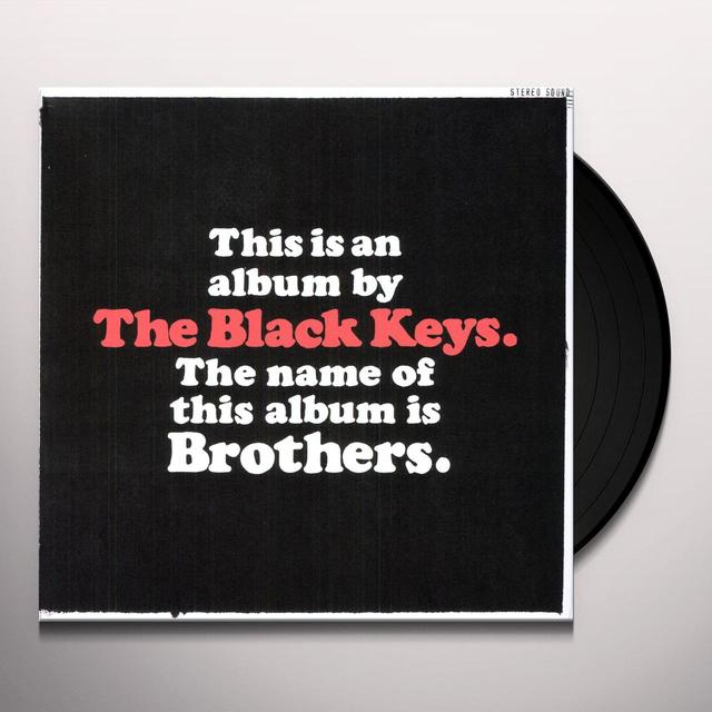 Black Keys BROTHERS Vinyl Record - UK Release