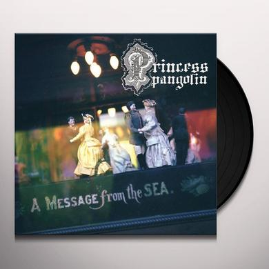 Princess Pangolin MESSAGE FROM THE SEA Vinyl Record - MP3 Download Included