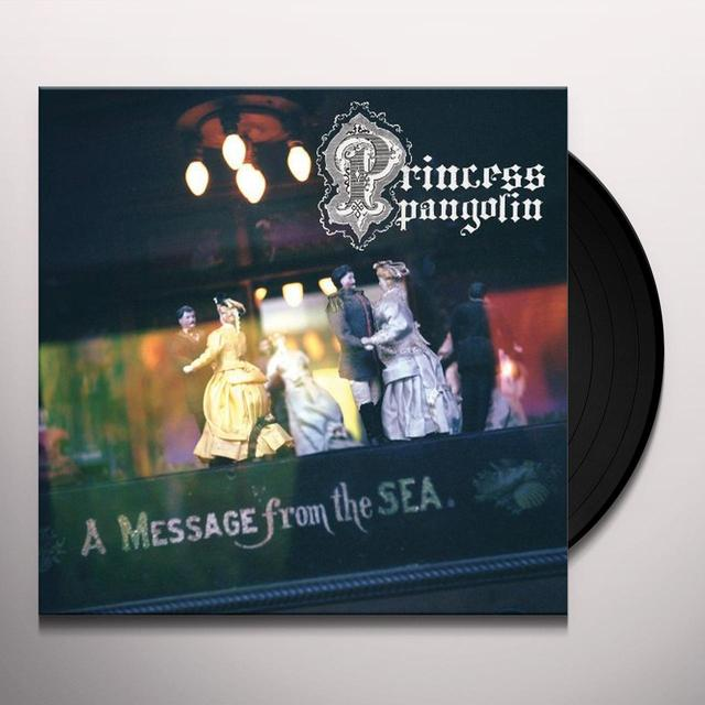Princess Pangolin MESSAGE FROM THE SEA Vinyl Record