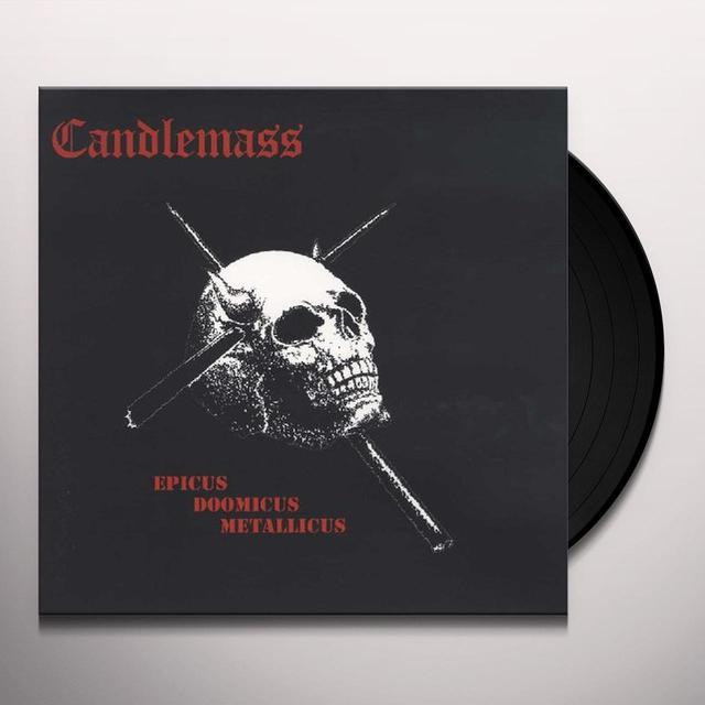 Candlemass EPICUS DOOMICUS METALLICUS Vinyl Record