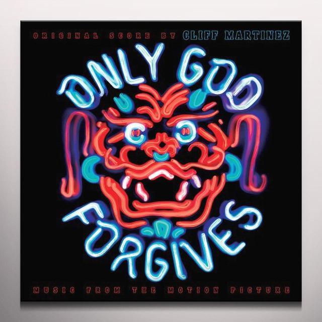 Cliff (Colv) (Ogv) Martinez ONLY GOD FORGIVES Vinyl Record - Colored Vinyl, 180 Gram Pressing