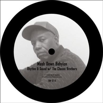 Rhythm & Sound MASH DOWN BABYLON Vinyl Record