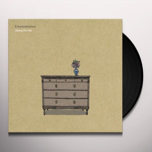 Manu Ferron UNANIMIEDAD Vinyl Record