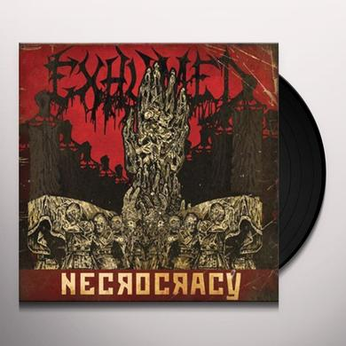 Exhumed NECROCRACY Vinyl Record