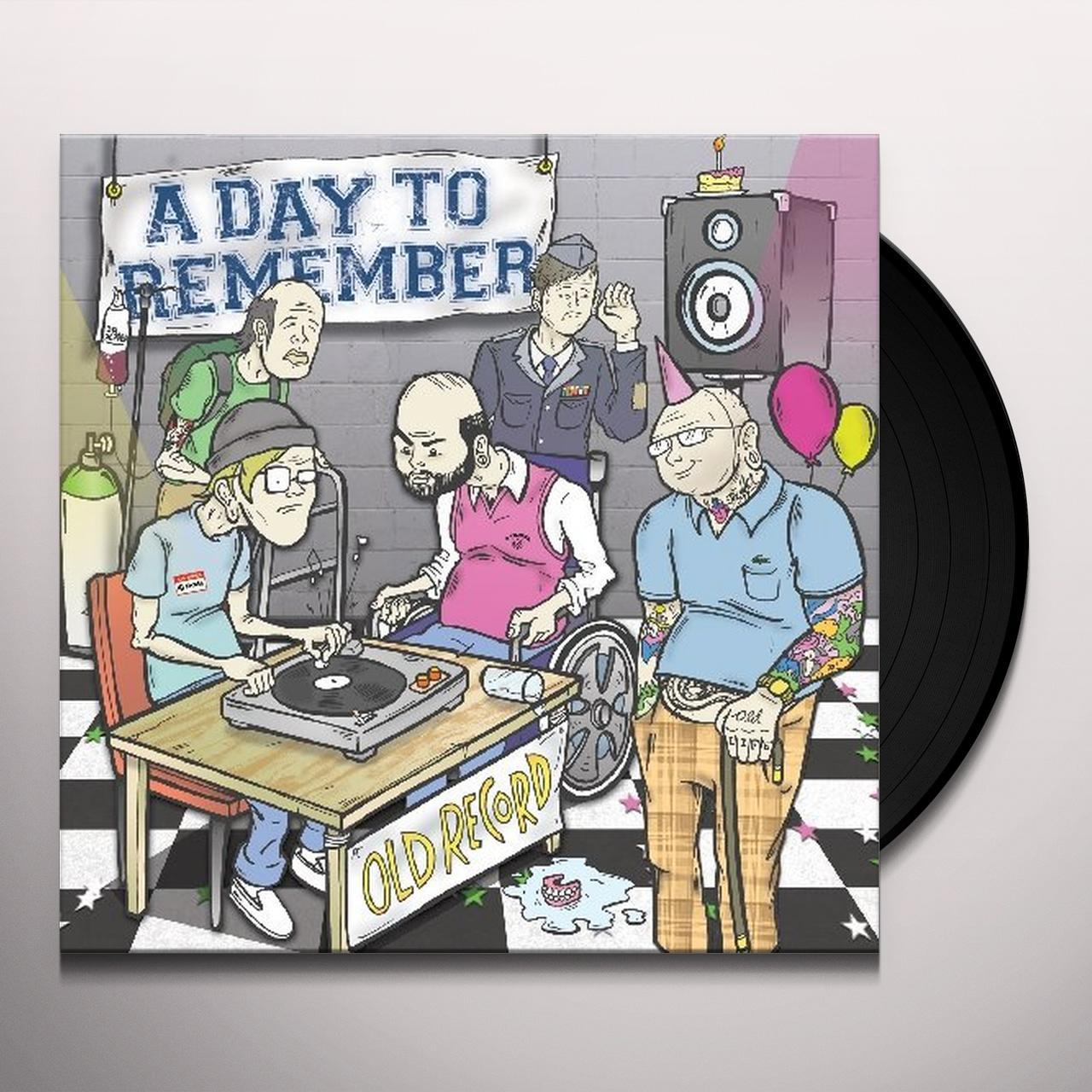 A Day To Remember OLD RECORD Vinyl Record A Day To Remember Old Record