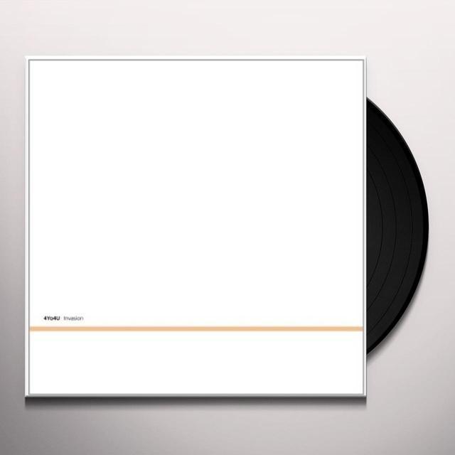 4Yo4U INVASION Vinyl Record