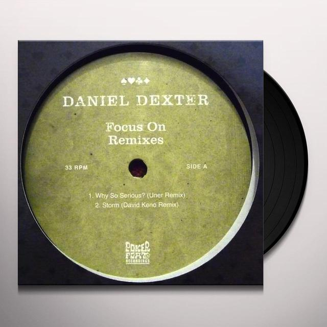 Daniel Dexter FOCUS ON Vinyl Record - Remixes