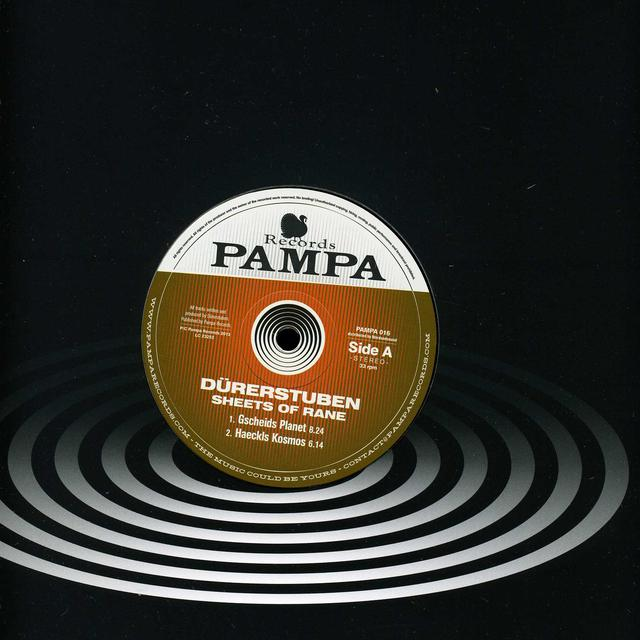 Durerstuben SHEET OF RANE Vinyl Record