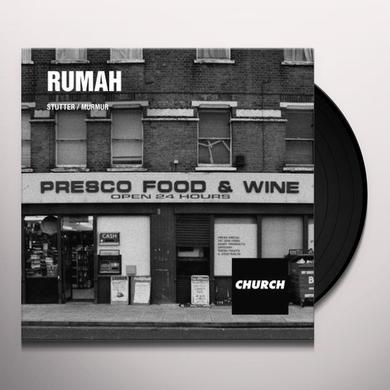 Rumah STUTTER / MURMUR (EP) Vinyl Record