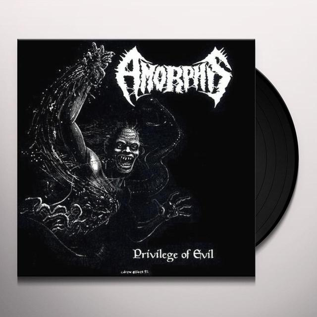 Amorphis PRIVILEGE OF EVIL Vinyl Record