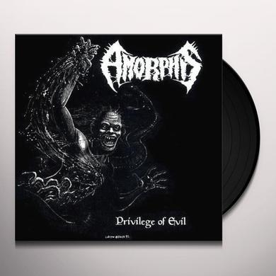 Amorphis PRIVILEGE OF EVIL Vinyl Record