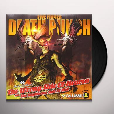 Five Finger Death Punch WRONG SIDE OF HEAVEN & RIGHTEOUS SIDE OF HELL 1 Vinyl Record