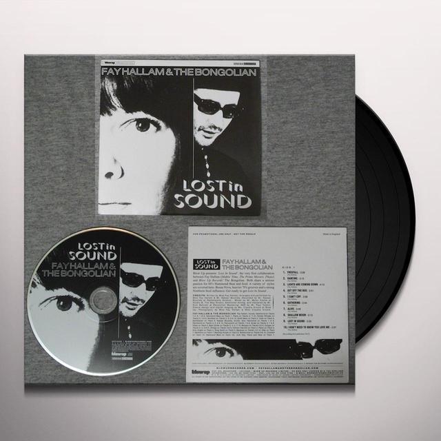 Fay Hallam LOST IN SOUND Vinyl Record
