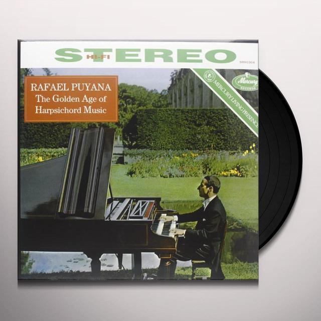 Rafael Puyana GOLDEN AGE OF HARPSICH Vinyl Record