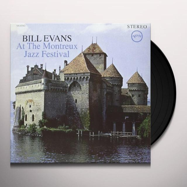Bill Evans AT THE MONTREUX JAZZ FESTIVAL Vinyl Record
