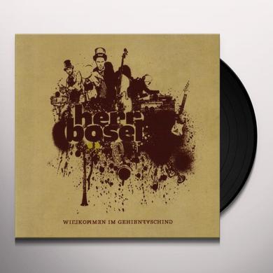 Herr Boesel WILLKOMMEN IM GEHIRNFA Vinyl Record
