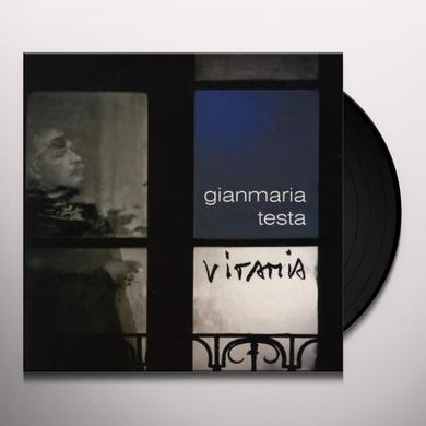 Gianmaria Testa VITAMIA Vinyl Record