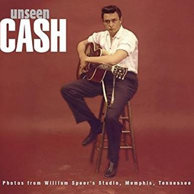 Johnny Cash UNSEEN CASH FROM WILLIAM SPEER'S STUDIO Vinyl Record