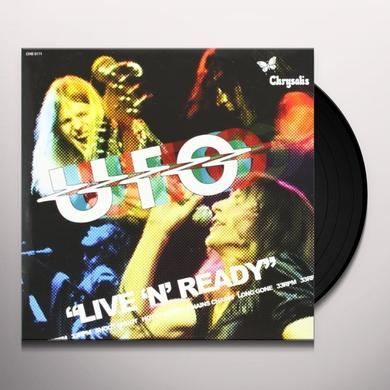 Ufo LIVE N READY Vinyl Record
