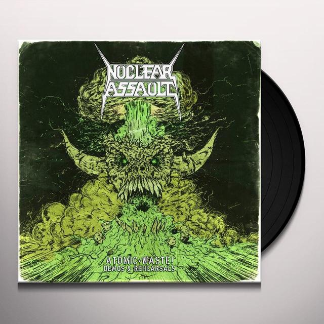 Nuclear Blastar Assault ATOMIC WASTE: DEMOS & REHEARSALS Vinyl Record