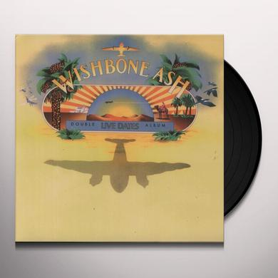 Wishbone Ash LIVE DATES Vinyl Record - 180 Gram Pressing
