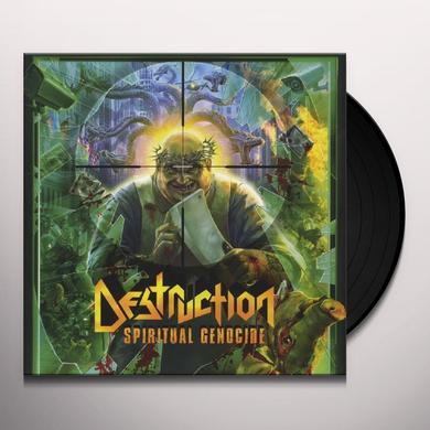 Destruction SPIRITUAL GENOCIDE Vinyl Record - Picture Disc