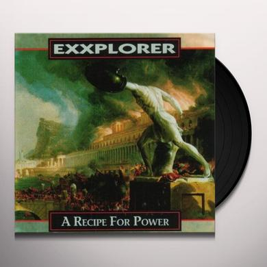 Exxplorer RECIPE FOR POWER Vinyl Record