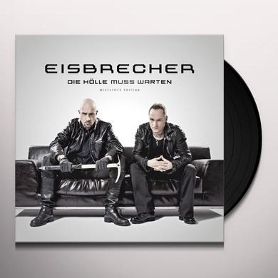 Eisbrecher DIE HOELLE MUSS WARTEN Vinyl Record