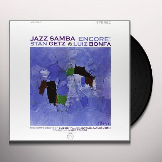 Stan Getz JAZZ SAMBA ENCORE Vinyl Record
