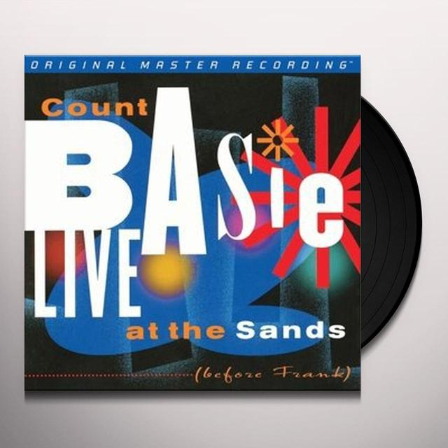 Count Basie LIVE AT THE SANDS Vinyl Record - Limited Edition, 180 Gram Pressing