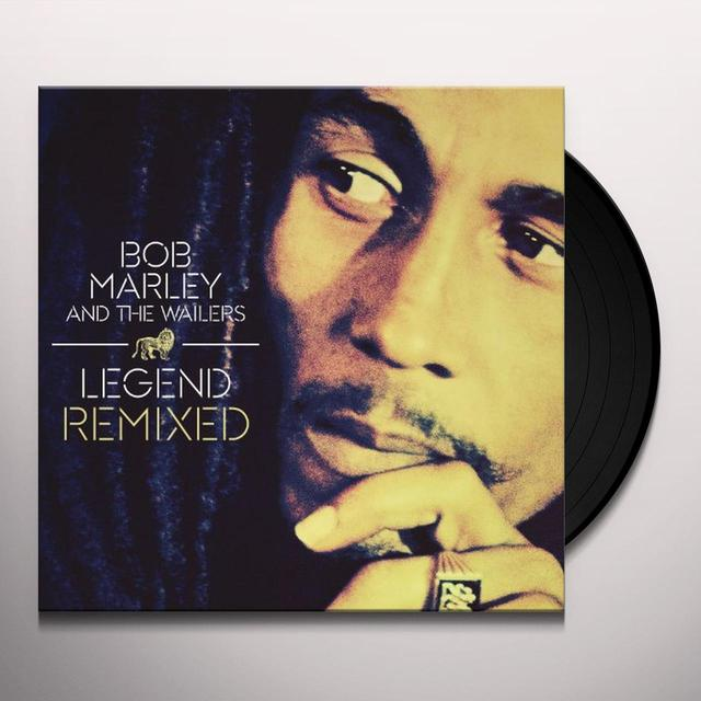 Bob Marley LEGEND REMIXED Vinyl Record